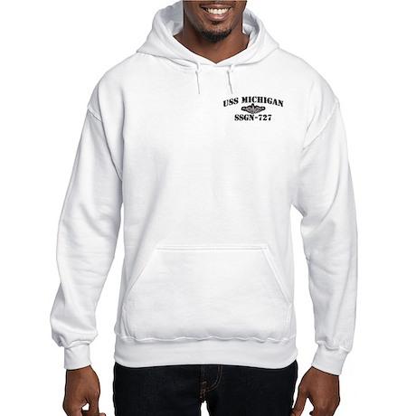 USS MICHIGAN Hooded Sweatshirt