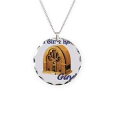 Old Time Radio Guy Necklace
