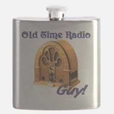 Old Time Radio Guy Flask