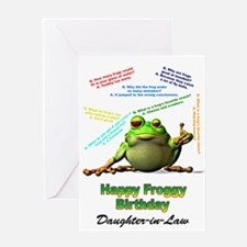 For daughter-in-law Lots of Froggy Jokes Birthday