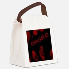Dangelo, Bloody Handprint, Horror Canvas Lunch Bag