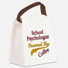 School Psychologist Powered By Co Canvas Lunch Bag