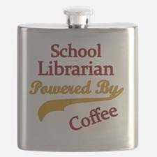 Powered by coffee Teacher librarian   Flask