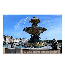Fountain de la Concorde Postcards (Package of 8)