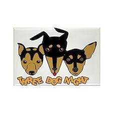 Three Dog Night Rectangle Magnet