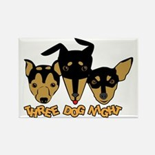 Three Dog Night Rectangle Magnet