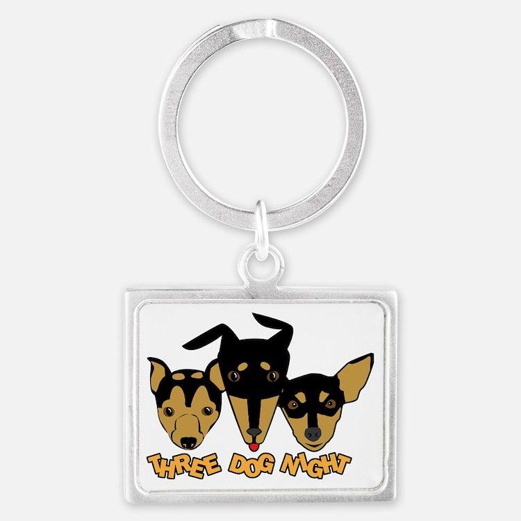Three Dog Night Landscape Keychain