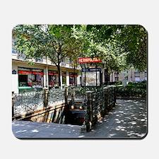 Paris Metro Entrance Mousepad