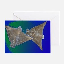 Wonky Whip Ray Greeting Card
