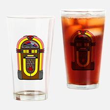 Retro Jukebox Drinking Glass