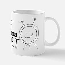 SpaceCadet Horizontal Mug