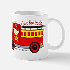 FIRE TRUCK - LOVE TO BE ME Mug