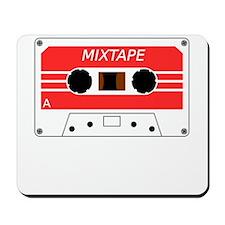 Red Cassette Tape Mousepad