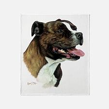 Staffordshire Bull Terrier Throw Blanket