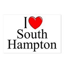 """""""I Love South Hampton"""" Postcards (Package of 8)"""