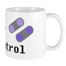 In control SNES Mug