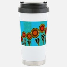 70S-SUNFLOWERS-TOILETRY-BAG Travel Mug