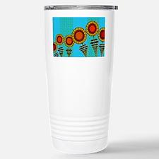 SUNFLOWERS-COIN-PURSE Travel Mug