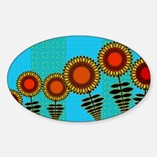 70S-SUNFLOWERS-TOILETRY-BAG Decal