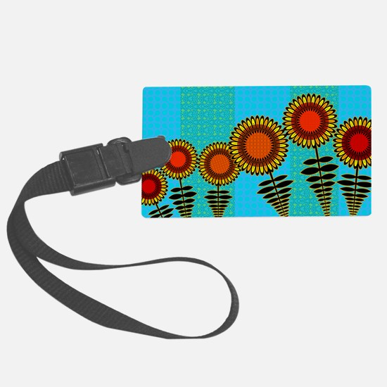 SUNFLOWERS-COIN-PURSE Luggage Tag