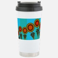 SUNFLOWERS-CLUTCH-BAG Stainless Steel Travel Mug