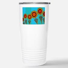 SUNFLOWERS-CLUTCH-BAG Travel Mug
