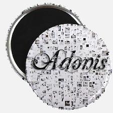 Adonis, Matrix, Abstract Art Magnet