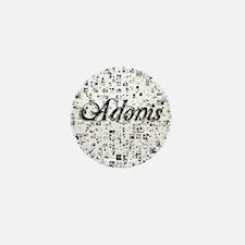 Adonis, Matrix, Abstract Art Mini Button