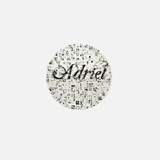 Adriel, Matrix, Abstract Art Mini Button