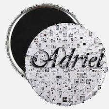 Adriel, Matrix, Abstract Art Magnet
