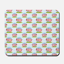 Greedy Pig Mousepad