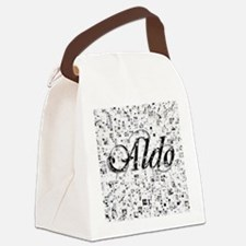 Aldo, Matrix, Abstract Art Canvas Lunch Bag