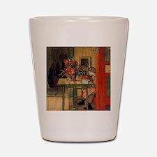Carl Larsson Shot Glass