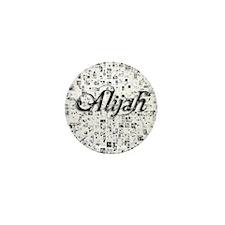 Alijah, Matrix, Abstract Art Mini Button