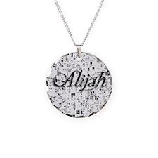 Alijah, Matrix, Abstract Art Necklace