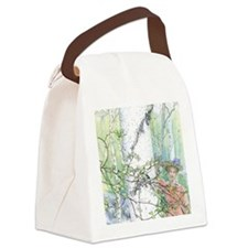 spring by Carl Larsson Canvas Lunch Bag