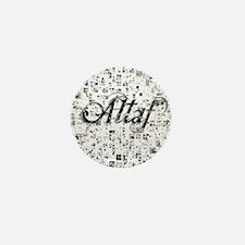 Altaf, Matrix, Abstract Art Mini Button