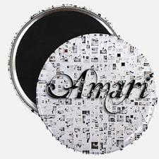 Amari, Matrix, Abstract Art Magnet