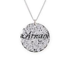 Armani, Matrix, Abstract Art Necklace