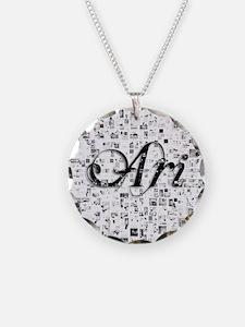 Ari, Matrix, Abstract Art Necklace
