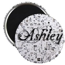 Ashley, Matrix, Abstract Art Magnet