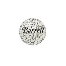 Barrett, Matrix, Abstract Art Mini Button