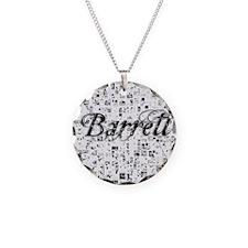 Barrett, Matrix, Abstract Ar Necklace