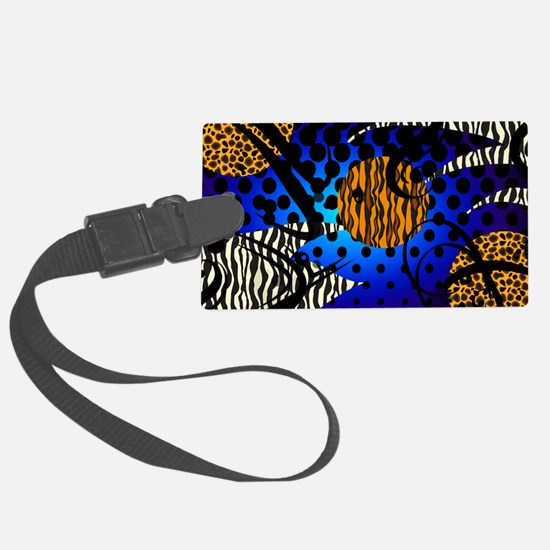 WILD-NIGHTS-TOILTRY-BAG Luggage Tag