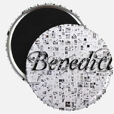 Benedict, Matrix, Abstract Art Magnet