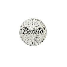 Benito, Matrix, Abstract Art Mini Button
