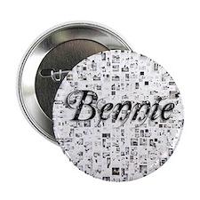 """Bennie, Matrix, Abstract Art 2.25"""" Button"""