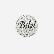 Bilal, Matrix, Abstract Art Mini Button