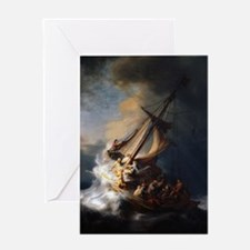 The Storm on the Sea of Galilee 1 Greeting Card