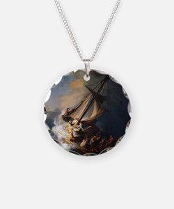 Rembrandt The Storm on the S Necklace